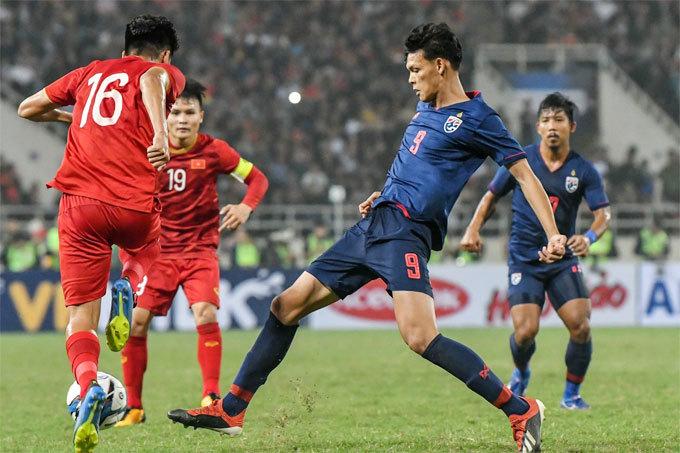 Đội tuyển Việt Nam liên tục chạm trán Thái Lan cuối năm 2019