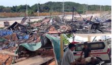 Điều tra vụ cháy nổ lớn tại công trường thi công sân golf khiến 11 người thương vong