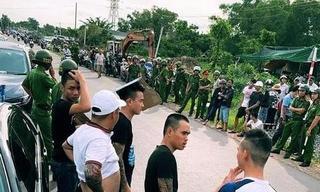 Tiết lộ về người gọi Giang '36' cùng nhóm xăm trổ đến vây xe công an