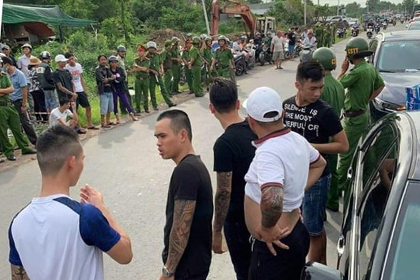Thêm một đối tượng bị bắt sau vụ giang hồ vây xe công an ở Đồng Nai