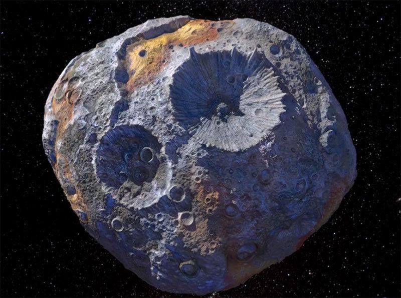 Hành tinh kim loại đang được trung tâm nghiên cứu vũ trụ của Mỹ lên kế hoạch chinh phục
