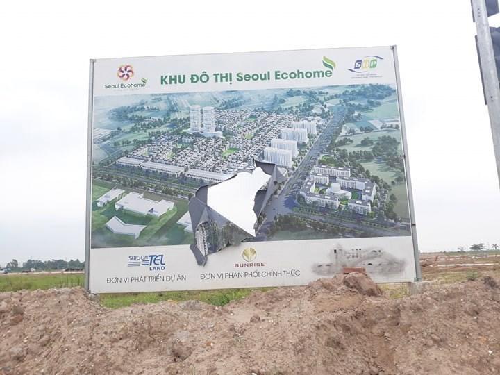 """Hải Phòng: Khách hàng cần thận trọng """"xuống tiền"""" dự án Tràng Duệ - Seoul Ecohome1"""