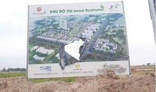Dự án khu đô thị Tràng Duệ - Seoul Ecohome có dấu hiệu sai phạm, chính quyền né tránh?