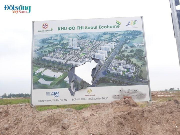 Dự án khu đô thị Tràng Duệ - Seoul Ecohome chưa đủ điều kiện pháp lý đã rao bán, chính quyền né tránh báo chí?1