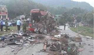 Xe tải tông xe khách khiến 40 người thương vong ở Hòa Bình không có dữ liệu đăng kiểm
