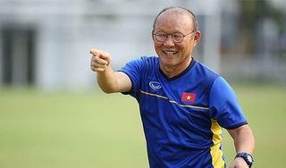 HLV Park Hang Seo báo tin vui với người hâm mộ bóng đá Việt Nam