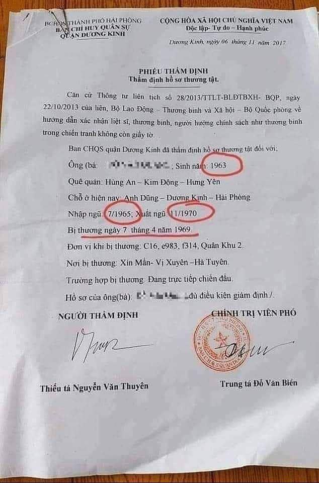 Sự thật bất ngờ về sự việc cựu quân nhân 2 tuổi nhập ngũ, 7 tuổi xuất ngũ ở Hải Phòng