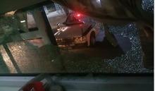 Thanh Hoá: Xe khách bị ném đá vỡ kính, nữ hành khách bị thương