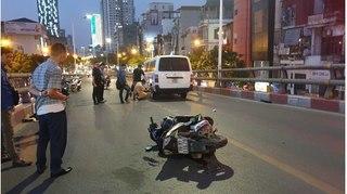 Danh tính thanh niên đi xe máy bị ô tô tông tử vong trên cầu vượt Lê Văn Lương