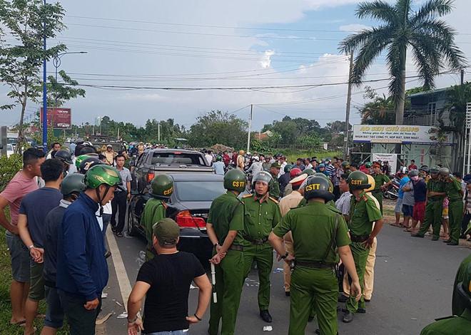 Diễn biến mới vụ giang hồ vây ô tô chở công an ở Đồng Nai