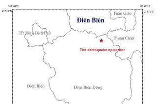 Điện Biên xảy ra động đất 3,8 độ richter, nhà cửa rung lắc