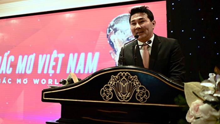 Tỷ phú Việt Nam Nguyễn Hoài Nam từ chối khi được bầu Đức giới thiệu vào VFF