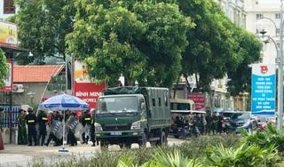 Hàng chục CSCĐ trấn áp nhóm côn đồ đập phá nhà hàng ở biển Hải Tiến