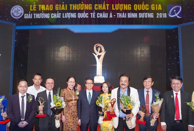 """CEO Trần Quí Thanh: """"Giải Vàng Chất lượng quốc gia khẳng định doanh nghiệp sản xuất, kinh doanh sản phẩm, dịch vụ đẳng cấp thế giới"""""""
