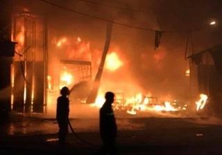 Bắc Giang: Nghi vấn người đàn ông ngáo đá tự phóng hoả đốt nhà