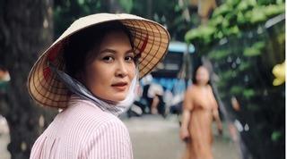 Diễn viên Thúy Hà phim Về nhà đi con: 'Hình ảnh ngoài đời của tôi khác xa cô Hạnh bán hoa'