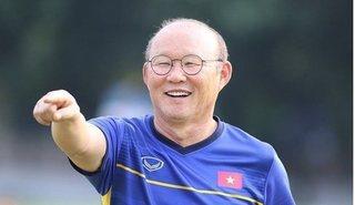Công ty quản lý của HLV Park Hang Seo báo tin vui với người hâm mộ Việt Nam