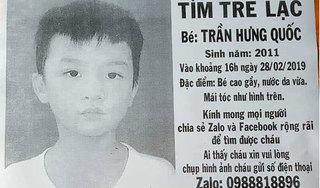 Cha miệt mài tìm con trai 8 tuổi mất tích suốt 4 tháng ở Sài Gòn