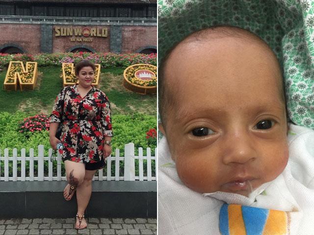 Mẹ Nam Định mang bầu nặng 94kg, đi làm bục cả ối, đẻ con 8 lạng ai cũng giật mình