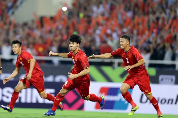 Đội tuyển Việt Nam chính thức trở lại vị trí thứ 96 trên bảng xếp hạng FIFA