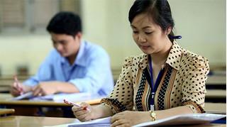 Nam Định: Chấm kiểm tra tất cả các bài thi Văn từ 8 điểm trở lên