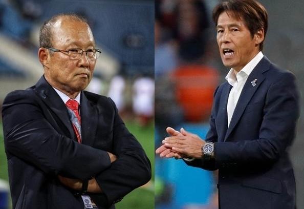 HLV Park Hang Seo và HLV Akira Nishino sẽ là đối trọng xứng tầm của nhau ở khu vực Đông Nam Á