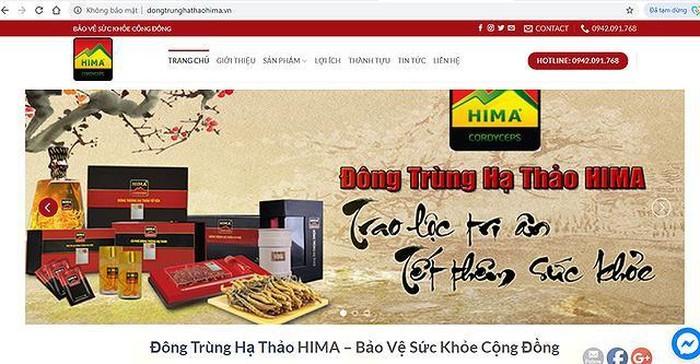 Quảng cáo sai, Công ty Cổ phần Đông Trùng Hạ Thảo bị phạt 150 triệu đồng