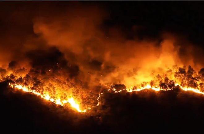Mức phạt nào dành cho người đốt rác gây ra vụ cháy kinh hoàng ở Hà Tĩnh