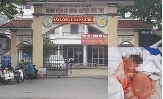 Bộ Y tế vào cuộc vụ bé sơ sinh ở Hà Tĩnh tử vong với với vết thương trên cổ