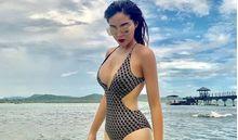 Sau khi tung ảnh bán nude, Hoa hậu Kỳ Duyên tiếp tục tung ảnh áo tắm đốt mắt fan