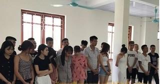 Phát hiện nhóm thanh niên đang 'bay lắc điên cuồng' trong quán karaoke nghi sử dụng ma túy