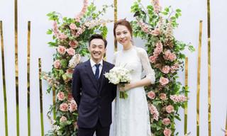 Lộ thiệp cưới của Cường Đô la và Đàm Thu Trang