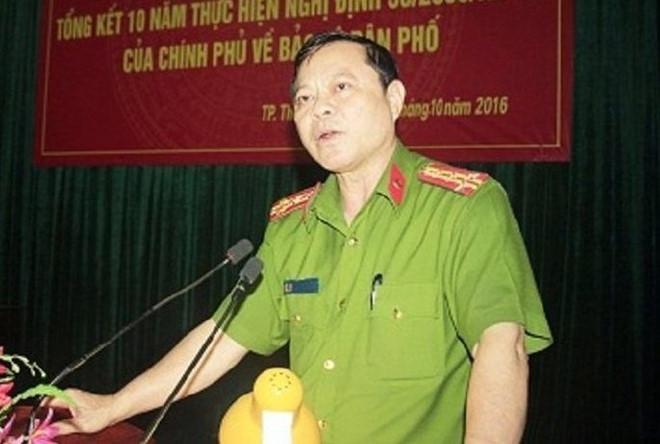 Cựu trưởng Công an TP Thanh Hóa đột quỵ trước khi bị bắt giam vì nhận hối lộ