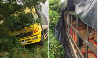 Tường trình của tài xế xe tải chở dầu gặp nạn, bị rạch bạt 'hôi của' trong đêm