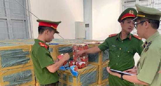 Thanh Hoá: Gần 7.000 hộp shisha nhập lậu bị tạm giữ