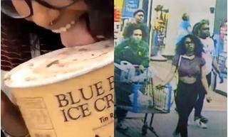 Cô gái đối mặt án tù 20 năm chỉ vì... liếm hộp kem trong siêu thị