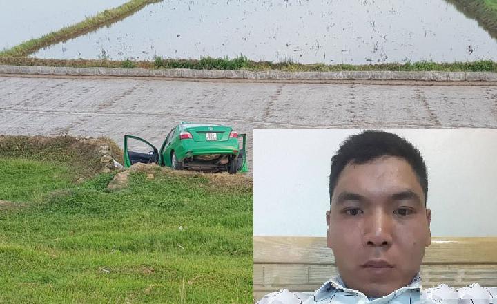 Gã trai vác dao cướp taxi Mai Linh lúc rạng sáng ở Bắc Giang