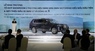 BMW X7 thế hệ I và BMW X5 hoàn toàn mới đã có mặt ở Việt Nam