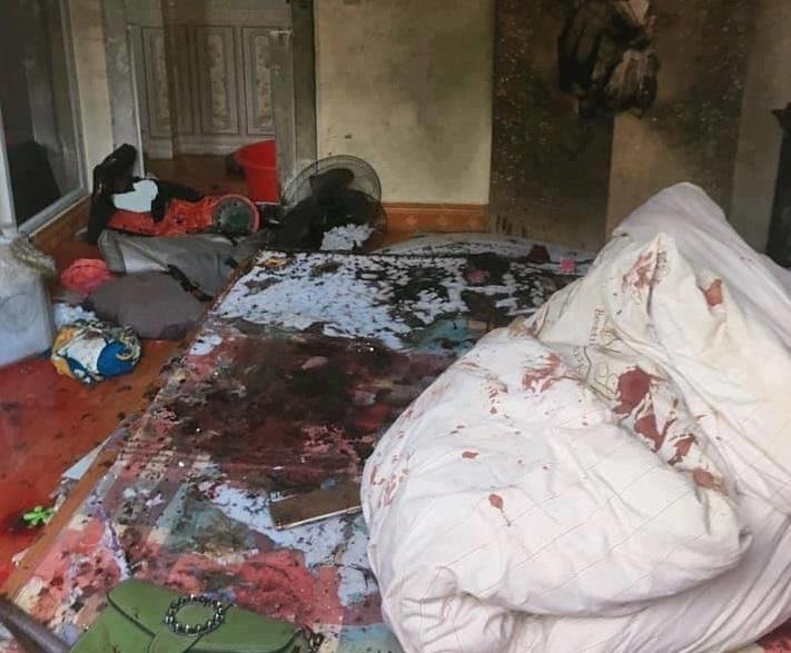 Thông tin mới vụ đổ xăng đốt cả nhà người tình ở Sơn La2