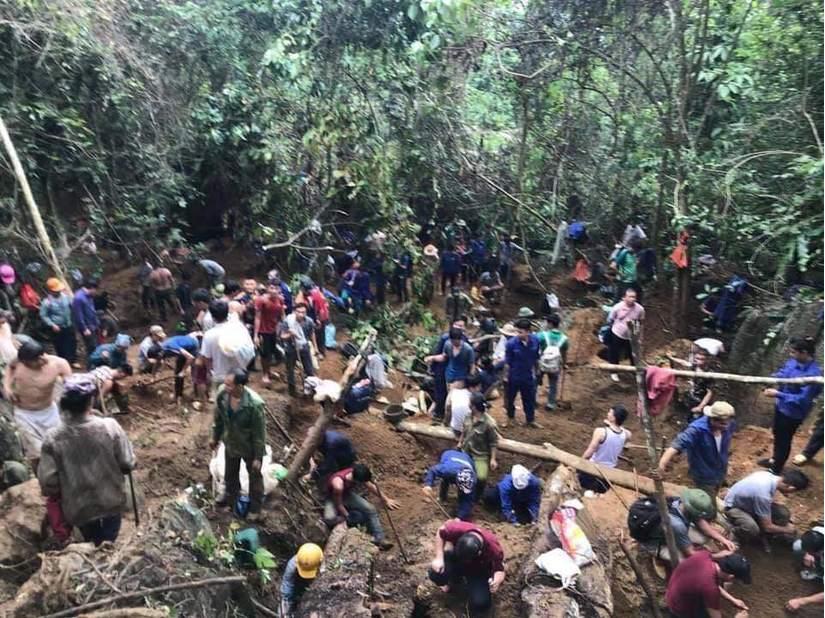 Khẩn trương truy tìm kẻ tung tin đồn đào được đá quý giá 5 tỷ ở Yên Bái