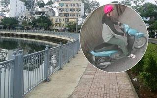 Xe máy của nghi can sát hại nữ sinh 19 tuổi nằm bí ẩn bên kênh Nhiêu Lộc