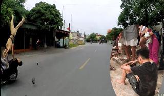 Danh tính quái xế 16 tuổi lái xe máy tông hất tung CSGT ở Hải Phòng