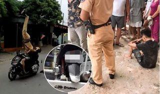 Nhân chứng vụ CSGT bị quái xế 16 tuổi tông: 'Thượng úy Quý bị hất văng khoảng 10m'