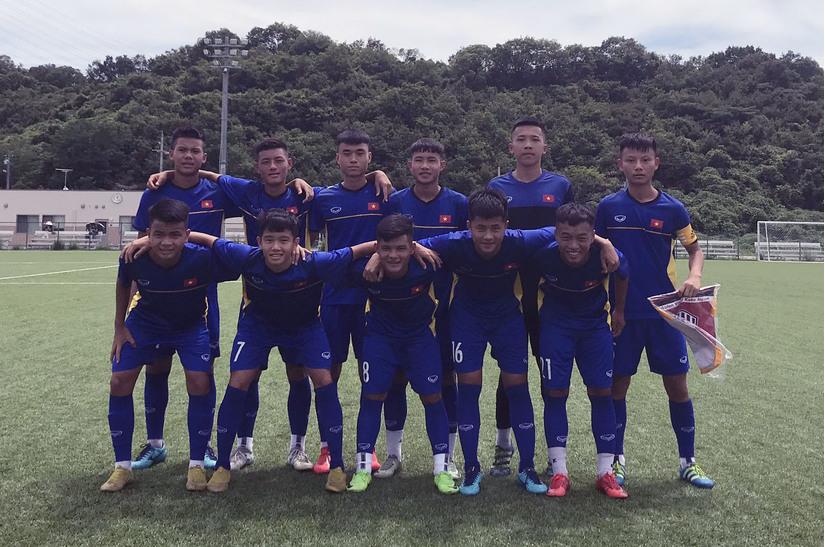 Đội tuyển U15 Việt Nam nhận trận thua đậm trước tuyển trẻ Vissel Kobe