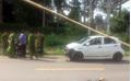 Dựng lại hiện trường vụ thiếu tá CSGT tông chết người