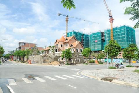 Nhiều dự án căn hộ đang được triển khai tại thị trường Bình Dương
