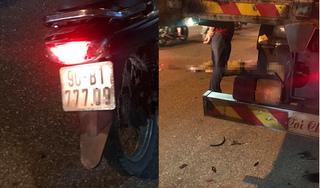 Hà Nam: Thanh niên tông vào đuôi container tử vong tại chỗ