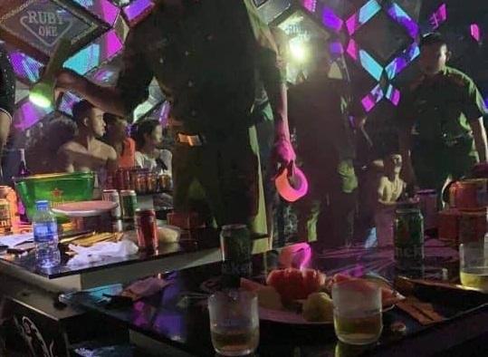 Hải Dương: Đột kích karaoke Ruby One, phát hiện 40 người dương tính ma túy