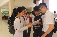 Nam Định có hơn 12.500 bài thi đạt điểm giỏi, xếp đầu kỳ thi THPT Quốc gia