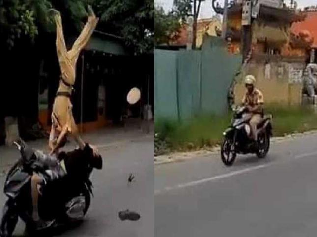 Công an Hải Phòng lên tiếng bất ngờ về hình ảnh chiến sĩ 'đuổi' sau quái xế 16 tuổi tông Thượng úy CSGT